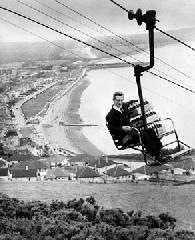 Bray cable car Coca Cola